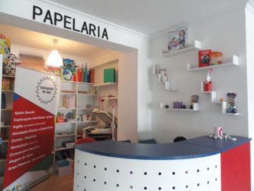 Receção - Papelaria CAE